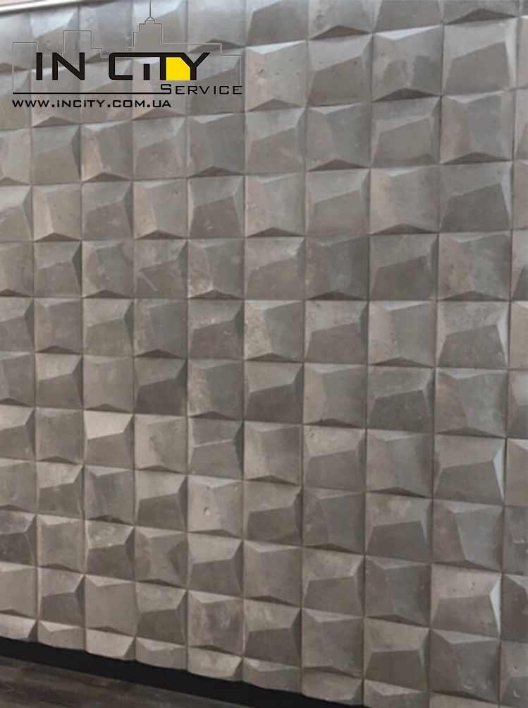 3D панели Блок под пленкой ПВХ