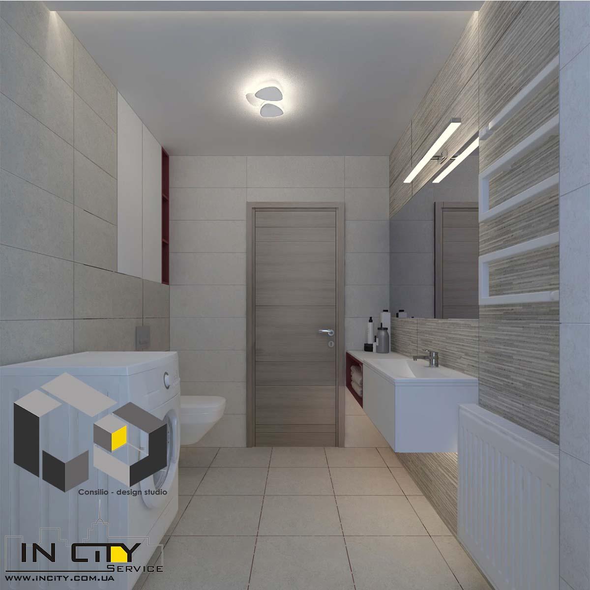 дизайн проект ремонт в ванной комнате