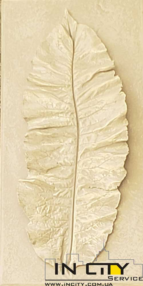 Dekorat-listya. Декоративные листья из гипса