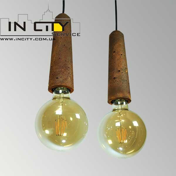 Бетонные светильники ЧП Сом, Agara Патрон крупный