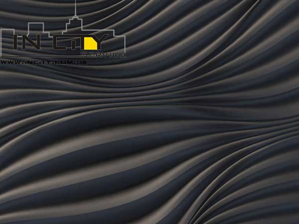 """ТМ """"Plitos"""" CirlwaveOs-3 3d paneli"""