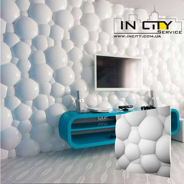 гипсовые 3D панели Пузыри
